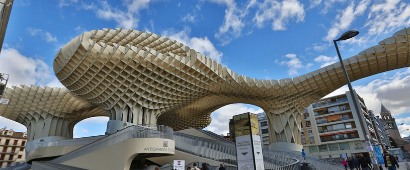 Ejemplos de arquitectura moderna en Sevilla